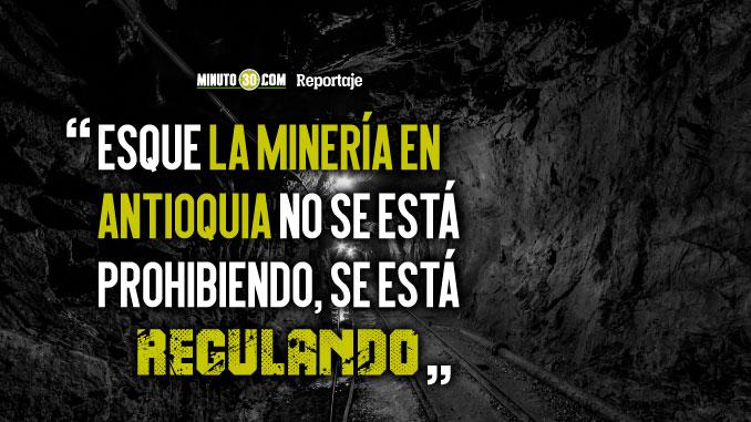Gobernador de Antioquia denuncia desorden minero en el departamento