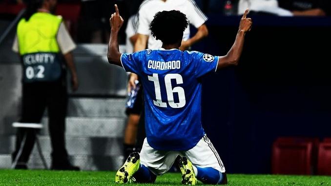 Gol de Juan Guillermo Cuadrado con la Juventus ante Atletico de Madrid en la Champios League