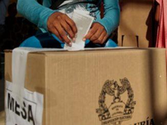 Imagen ilustrativa voto elecciones Colombia
