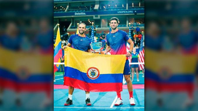 Juan Sebastian Cabal y Robert Farah reconocimiento
