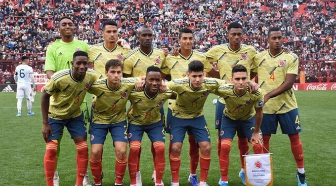 Seleccion Colombia Sub 23 disputara partidos amistosos en octubre durante la fecha FIFA