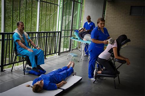 3 Circuito de terapias preventivas en el trabajo