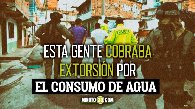A prision 15 presuntos integrantes de La Avanzada dedicados sembrar terror en Medellin y Bello