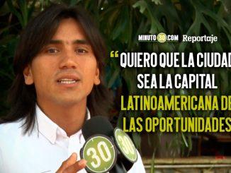 Albert Corredor quiere ser el Concejal de la educacion en Medellin