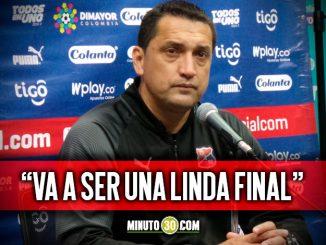 Aldo Bobadilla trae entre ceja y ceja al Deportivo Cali rival de Medellin en la final