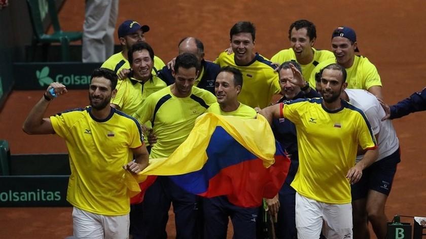 Colombia Copa Davis Copiar