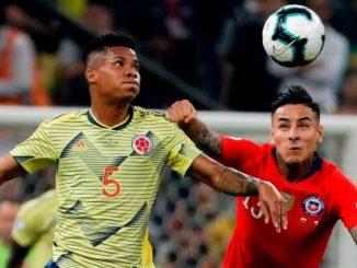 Colombia vs Chile en la Copa America Brasil