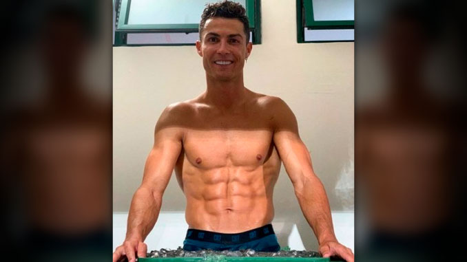Cristiano Ronaldo un fin de semana
