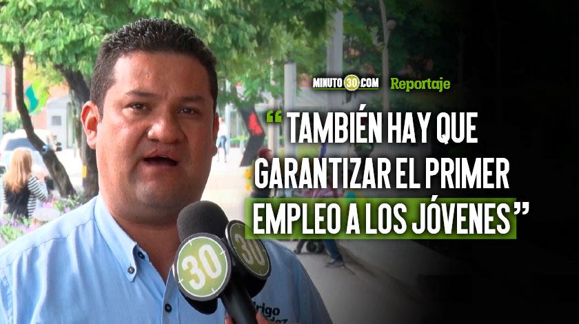 Educacion superior y emprendimiento prioridades para Rodrigo Hernandez candidato a la Alcaldia de Rionegro