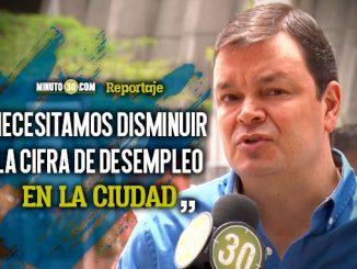 German Patino quiere apostarle al empleo de choque desde el Concejo de Medellin