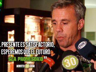 Lucas Pusineri espera una final muy dificil entre Cali y Medellin