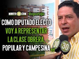 Manuel Garcia candidato a la Asamblea de Antioquia respalda las obras de alto impacto para el Uraba