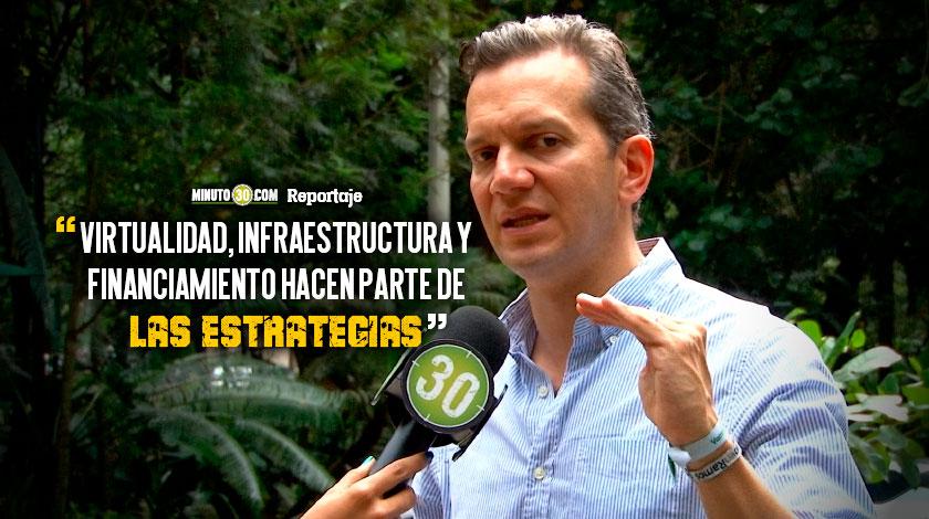 Mas cupos de educacion superior en Medellin propuesta de Alfredo Ramos
