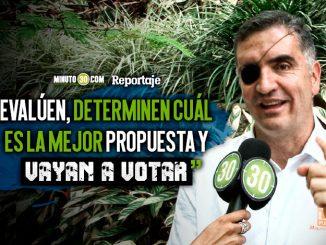 Mauricio Tobon invita a los antioquenos a ejercer su derecho al voto