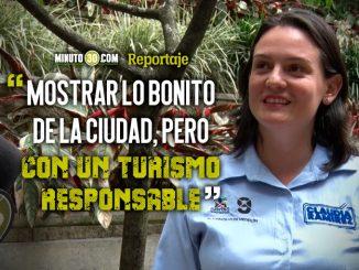 Promover el turismo en Medellin desde el Concejo es una de las apuestas de Claudia Ramirez