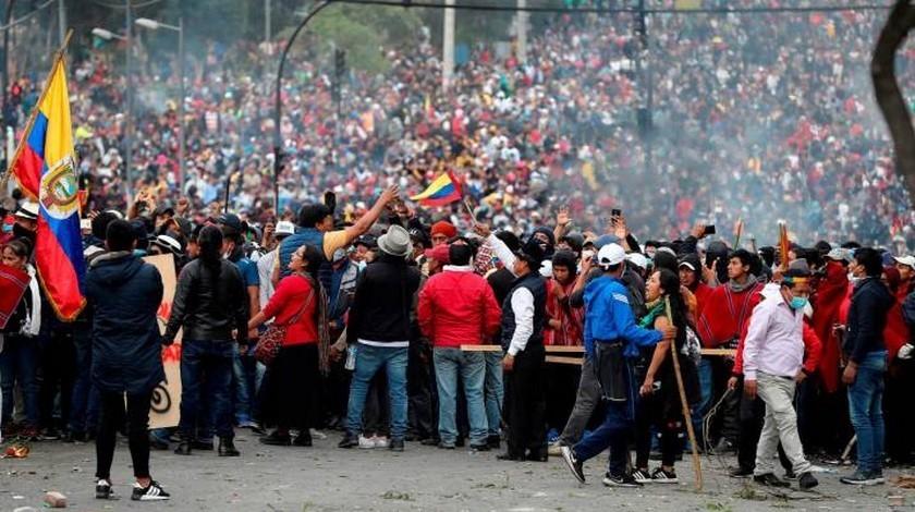 Protestas en Ecuador noticias internacionales