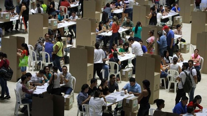 VOTANTES ELECTORES VOTO 1