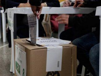 Votos en Antioquia autoridades
