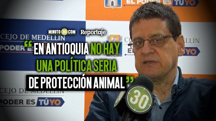 alvaro M%C3%BAnera quiere seguir trabajando por los animales esta vez desde la Asamblea de Antioquia