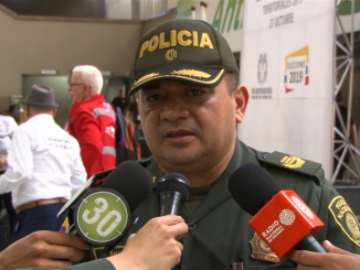 Coronel Giovanny Buitrago, comandante Policía Antioquia. Minuto30.
