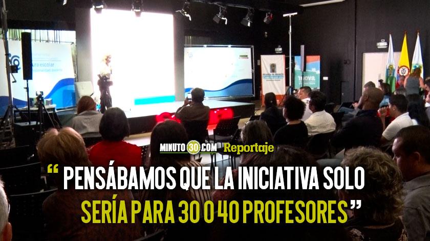 2 mil conforman el Centro de Pensamiento Pedagogico de Antioquia