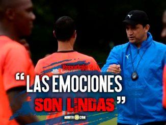 Aldo Bobadilla disfruta muy rapido de disputar una final con Medellin