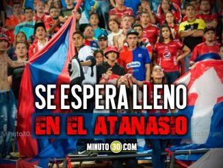 Boleteria para final entre Medellin Cali en el Atanasio avanza a buen ritmo
