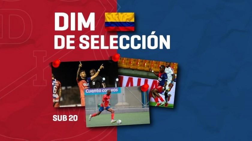Convocados Medellin seleccion sub 20