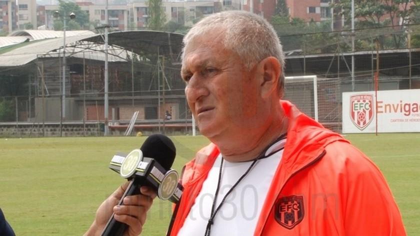 Eduardo Lara deja de ser el DT de Envigado
