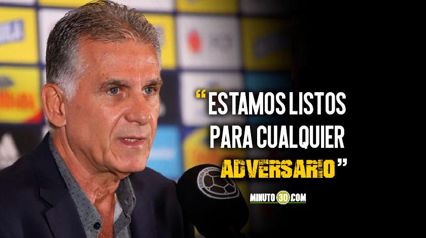 El tecnico Carlos Queiroz Seleccion Colombia