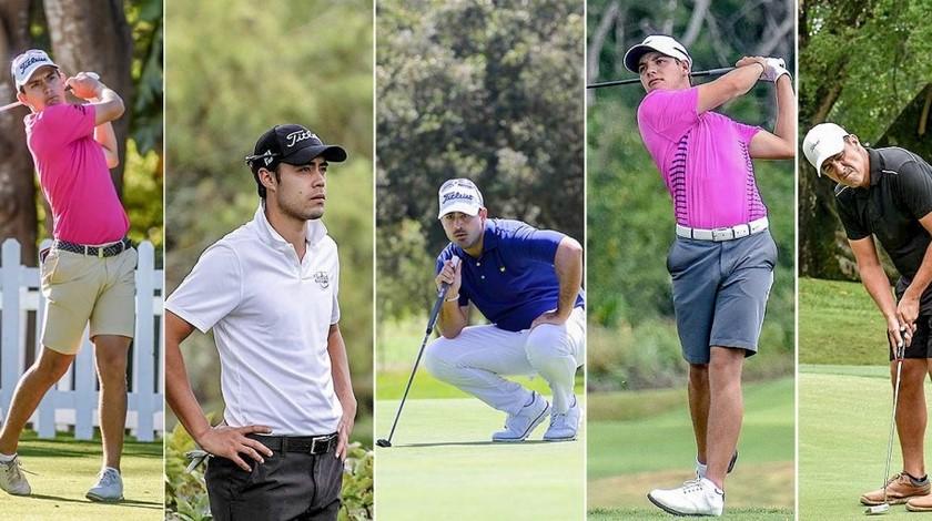 Golfistas colombianos Copiar
