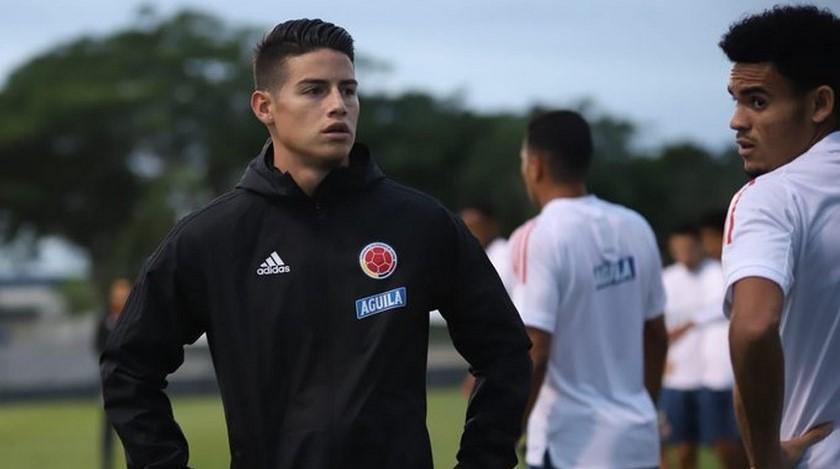 James Rodriguez en la seleccion Colombia