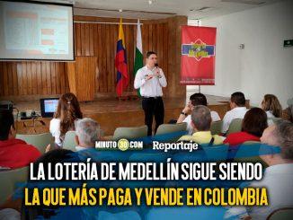Loteria de Medellin preve cerrar el 2019 con 134 mil millones en ventas y 104 mil millones en transferencias a la salud