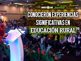 M%C3%A1s de 1.200 maestros se reunieron en el Congreso Latinoamericano de Educacion Rural en Medellin