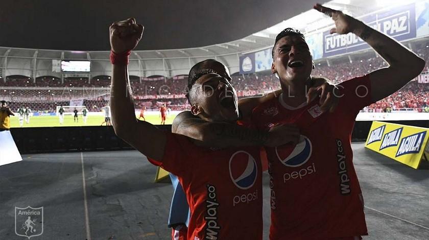 Michael Rangel delantero goleador America de Cali 4
