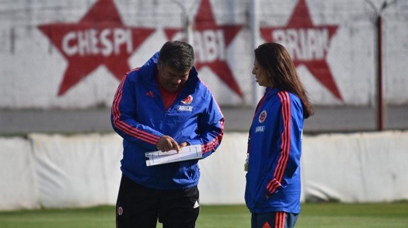 Nelson Abadia entrenador Seleccion Colombia Sub 17 femenina D