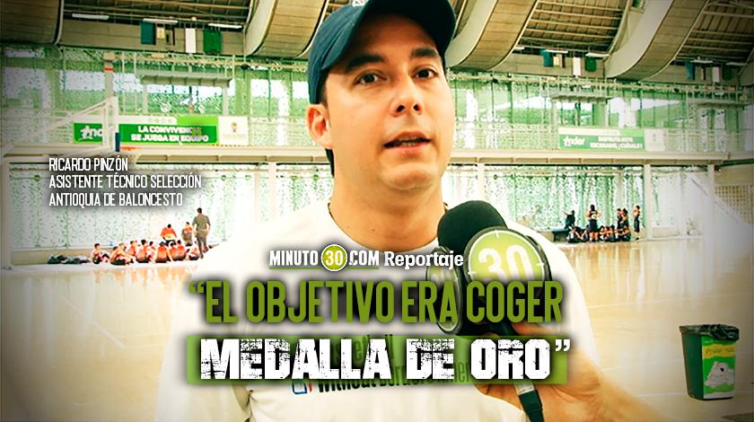 840 Juegos Nacionale le dejaron agridulce sabor a la Seleccion Antioquia de baloncesto