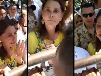 A quien le estas gritando Marta Lucia Ramirez