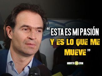 Alcalde de Medellin Federico Gutierrez