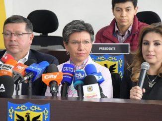 Claudia Lopez alcaldesa de Bogota