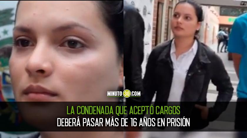 Condenaron a la joven que con su esposo habr%C3%ADa matado a un muchacha de 18 a%C3%B1os para cobrar un seguro de vida por 300 millones de pesos