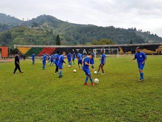 Entrenamiento Leones FC