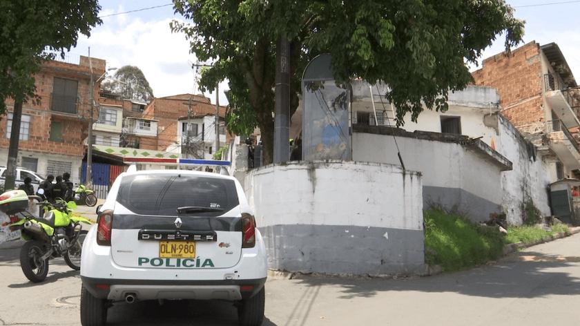 estacion de policia barrio santander