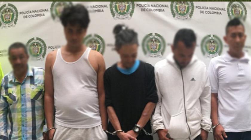 presuntos homicidas capturados