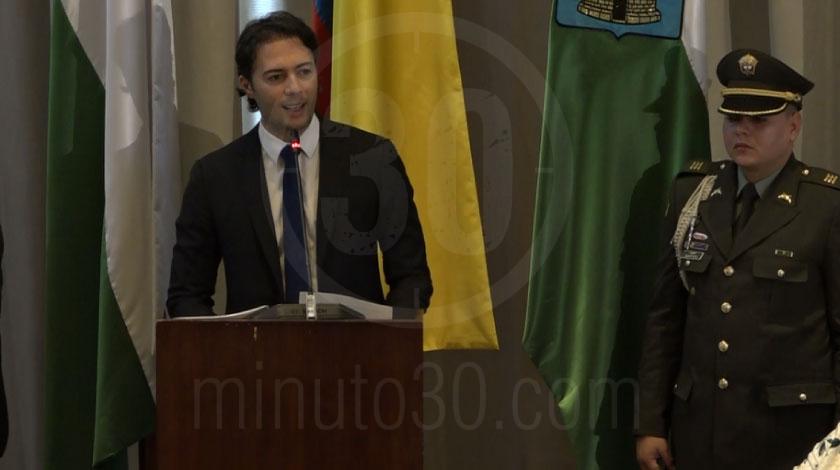 Alcalde Daniel Quintero Calle