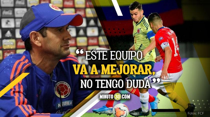 Chile hizo un gran partido pero el clasificado es Colombia Arturo Reyes