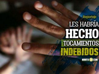 Cogieron en Itagui a un profesor senalado de abusar de dos ninas de 11 y 12 anos de edad