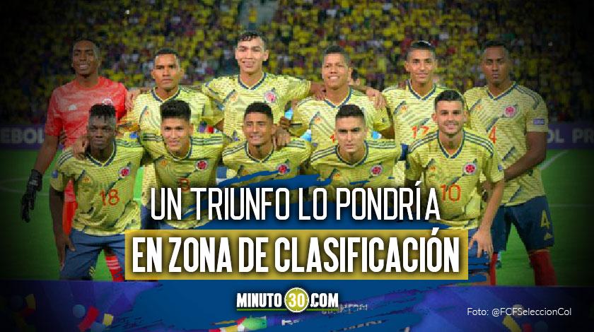 Colombia depende de si mismo para clasificar en el Preolimpico Sub 23