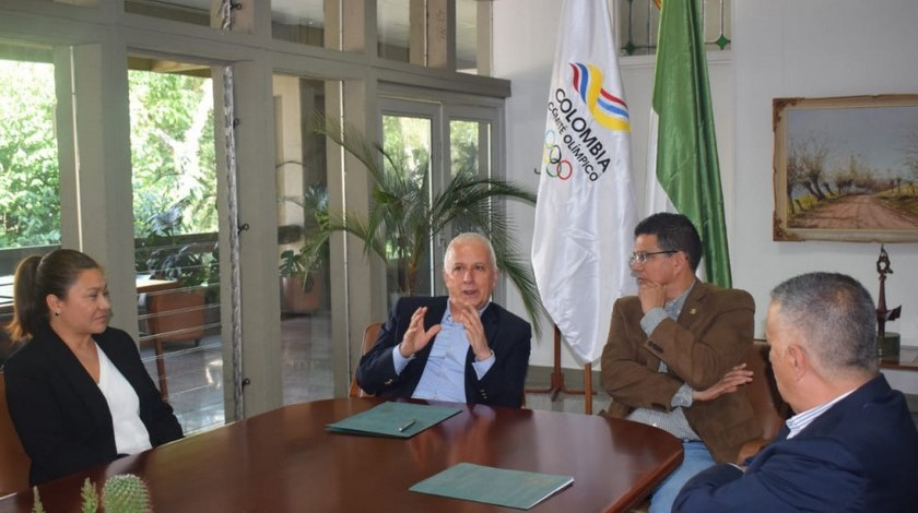 Comite Olimpico Colombiano y U de SA firman convenio 1