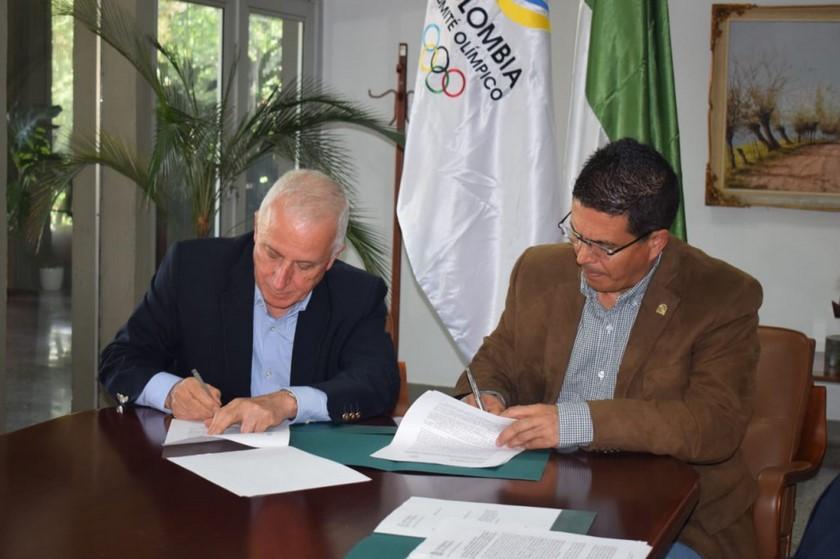 Comite Olimpico Colombiano y U de SA firman convenio 2